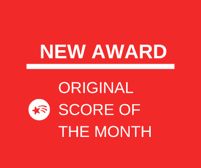 New Award - ORIGINAL SCORE