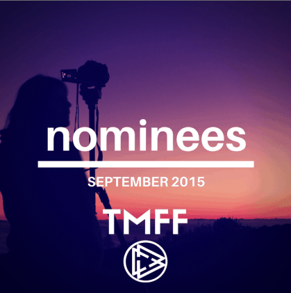 September Nominations announced!
