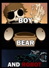 Boy Bear and Robot