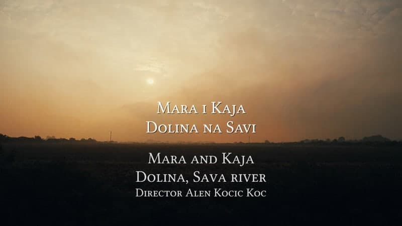 Mara and Kaja, Dolina, Sava River