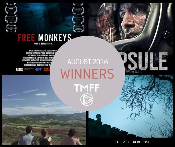 August 2016 Winners