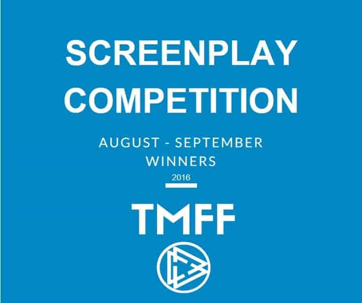 August-September Screenplay Competition Winners