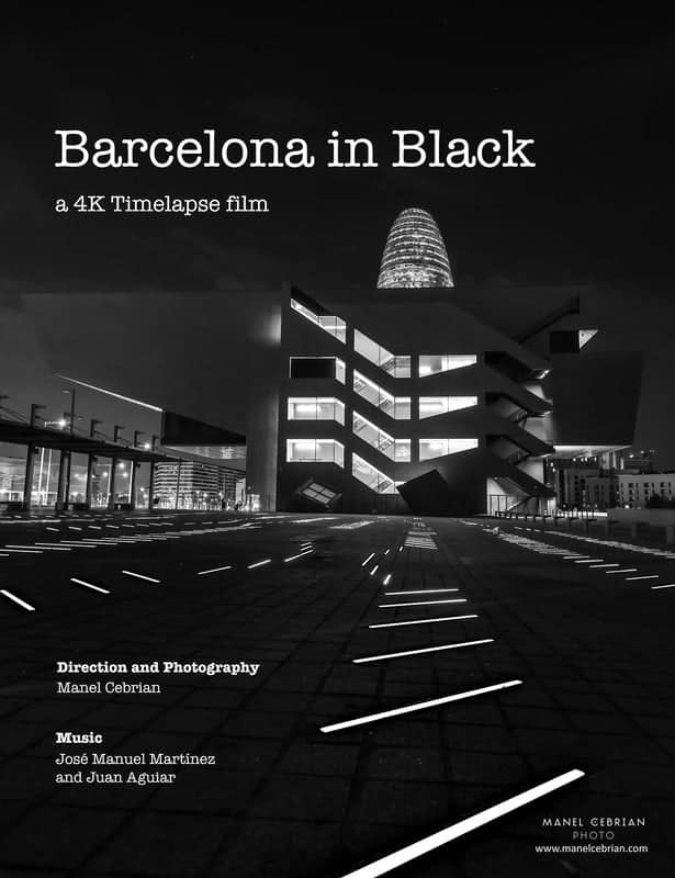 Barcelona in Black