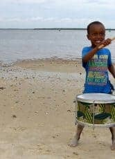 What happens to you for bringing drums to Africa?