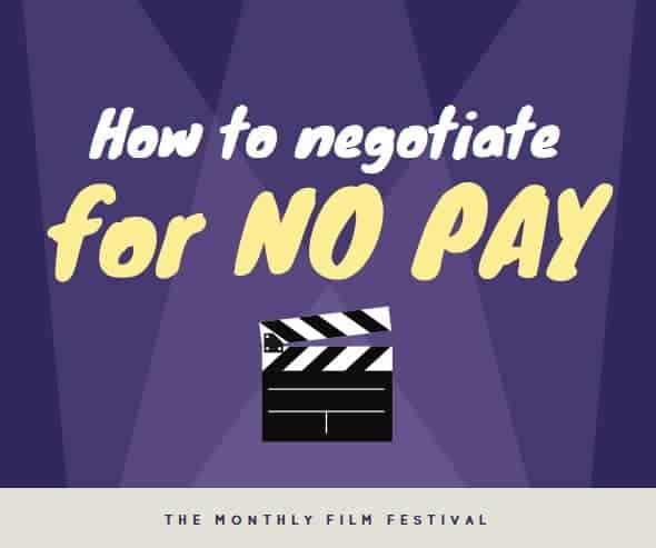 How to Negotiate for No Pay