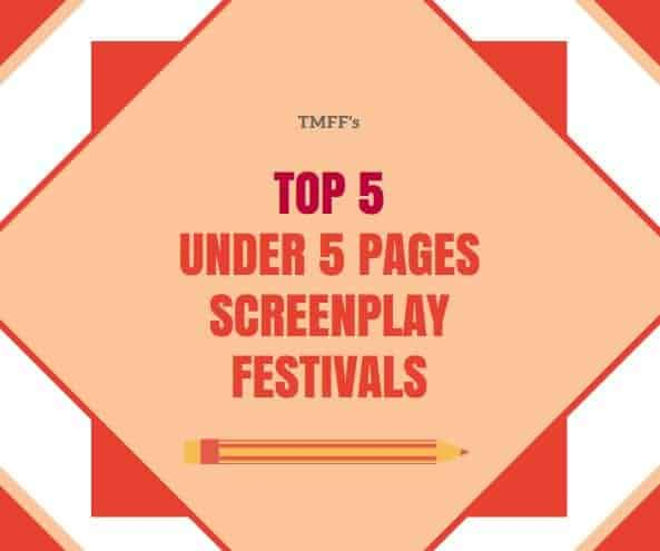 Top 5 Under 5 Pages Screenplay Festivals