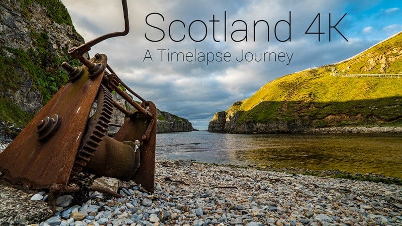 Scotland 4K - A Timelapse Journey