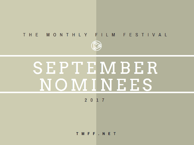 September 2017 Nominees Announced