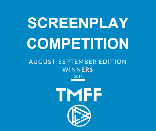 August-September 2017 Screenplay Competition Winners