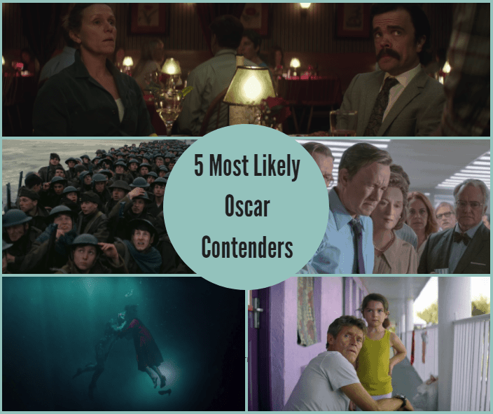5 Most Likely Oscar Contenders