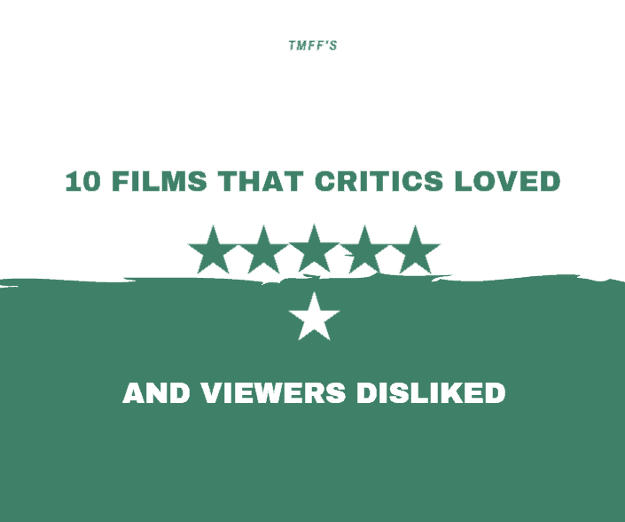 10 Films that Critics Loved but Viewers Disliked