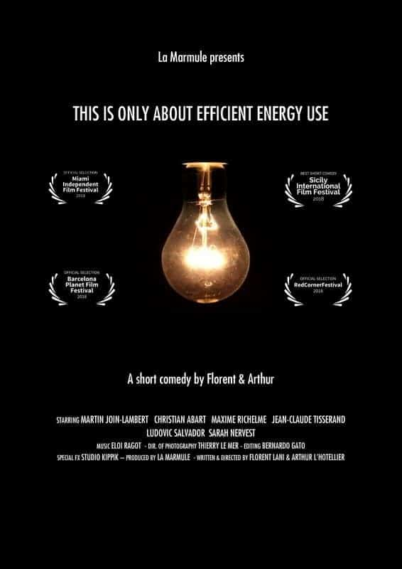 This is only about efficient energy use*