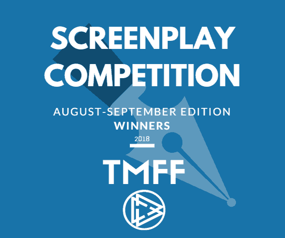 August-September 2018 Screenplay Competition Winners