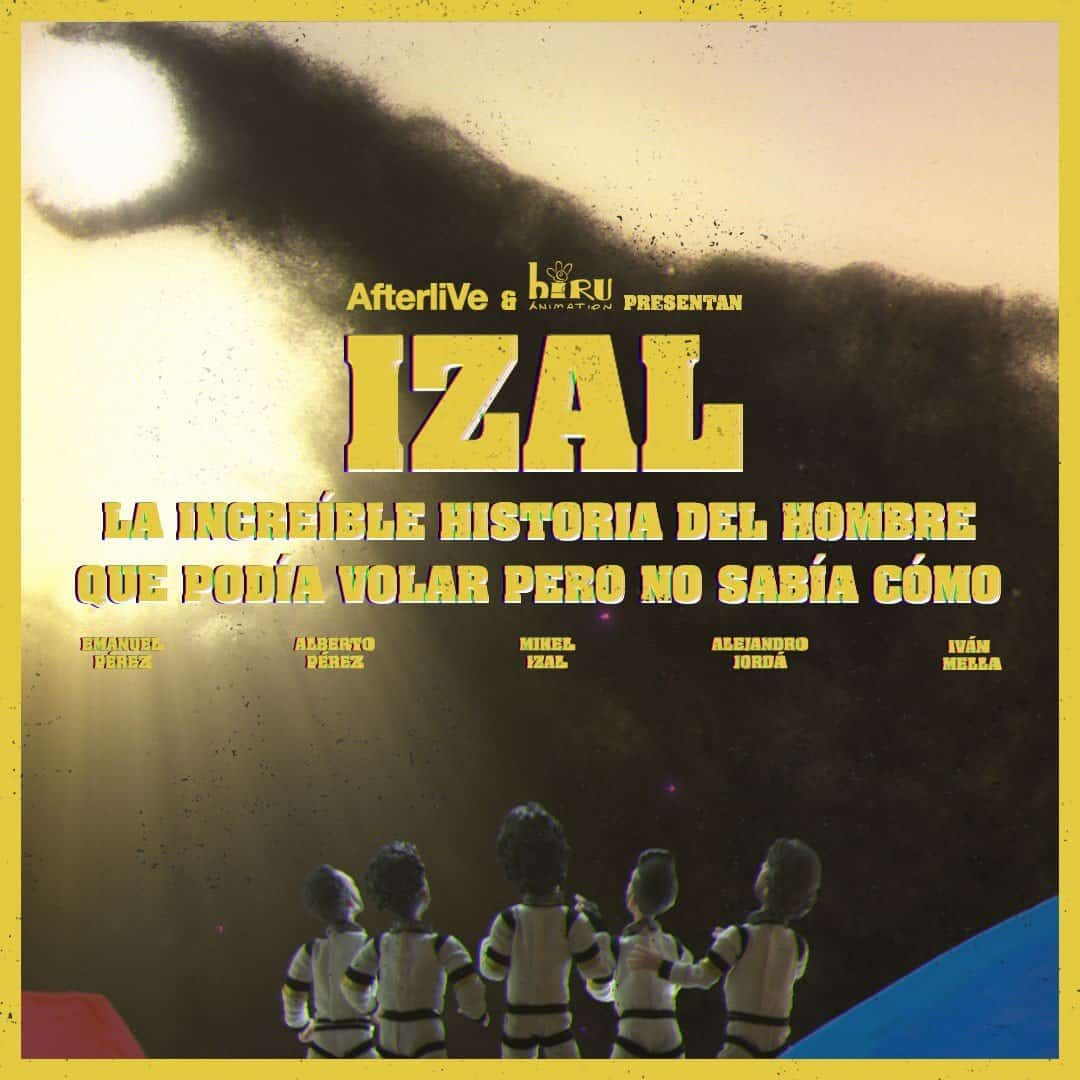 IZAL - The Amazing Story of the Man Who Could Fly But Did Not Know How