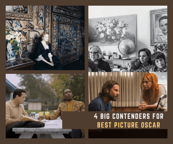 4 Big Contenders for Best Picture Oscar