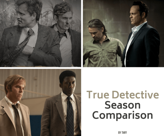 True Detective - Season Comparison