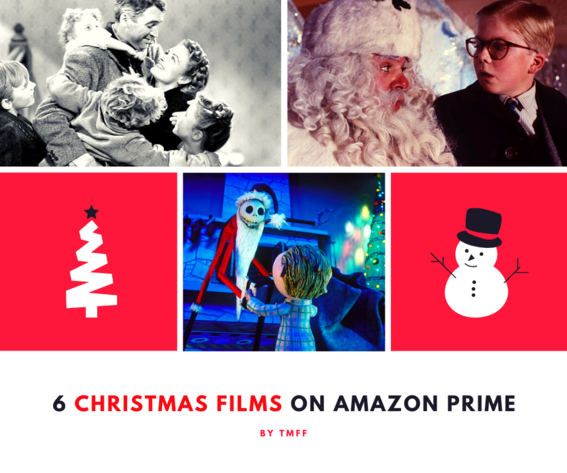 6 Christmas Films on Amazon Prime
